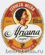 Africana Negra - темный лагер от Cerveceria Bieckert из Буэнос-Айреса